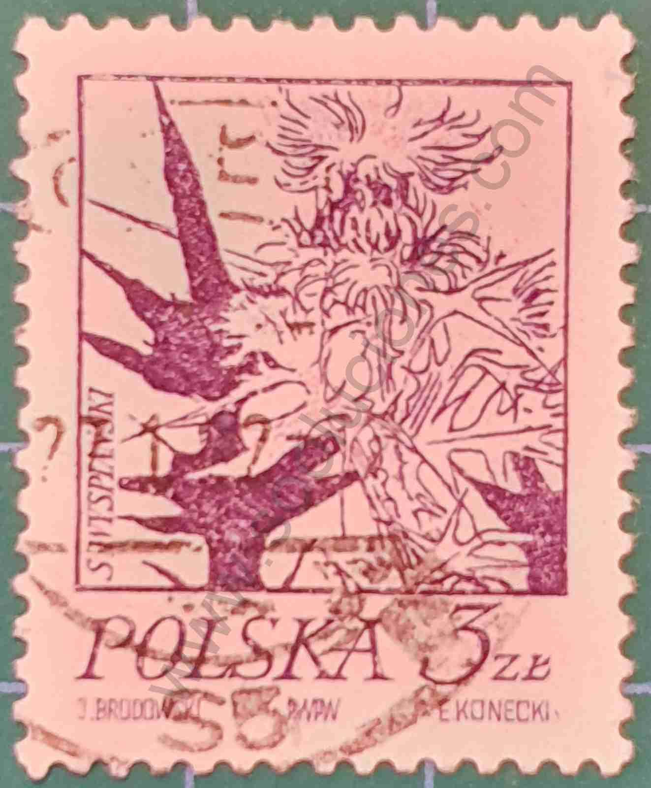 Cardo - Sello Polonia 1974