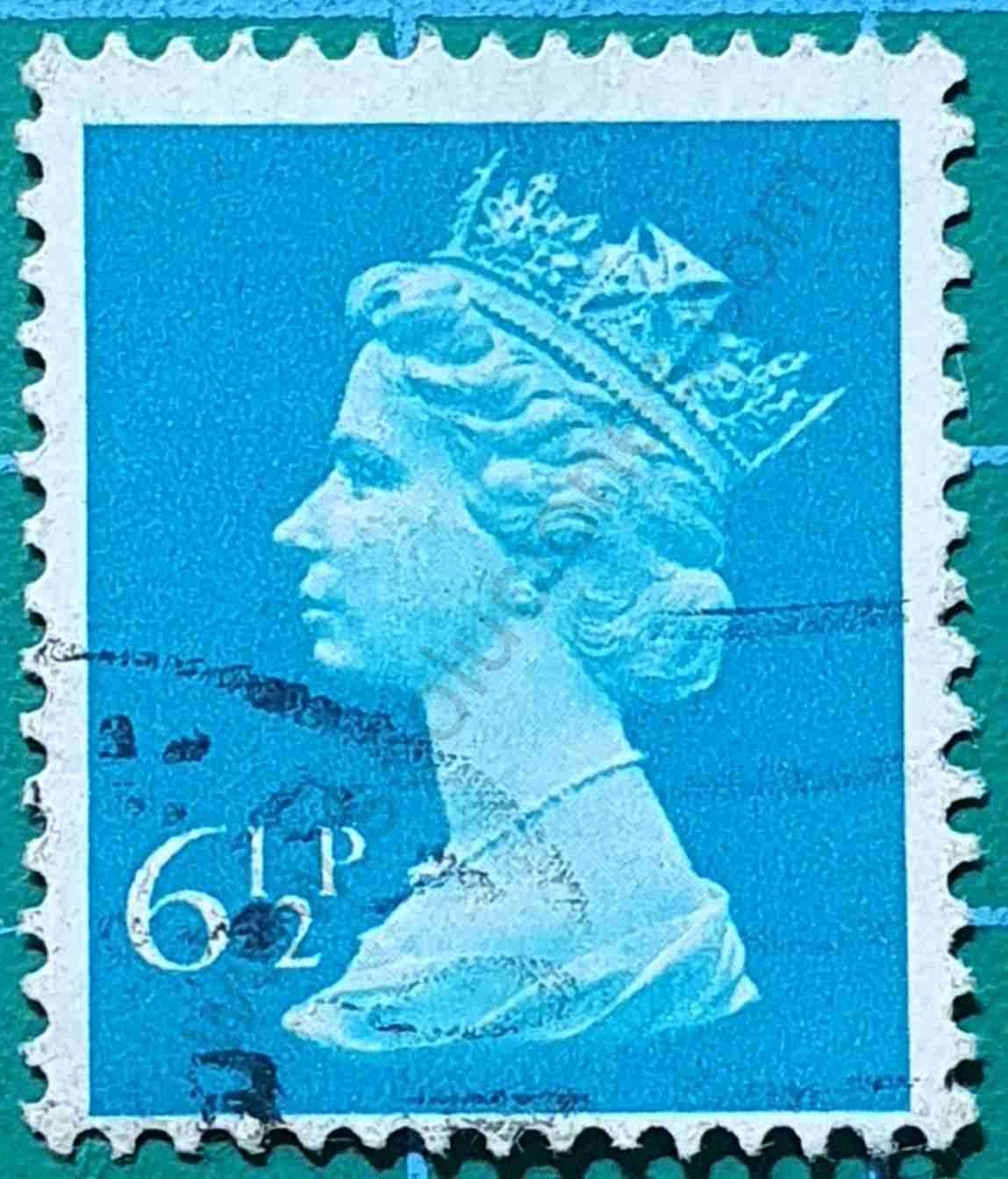 Sello Isabel II - 1975 Reino Unido