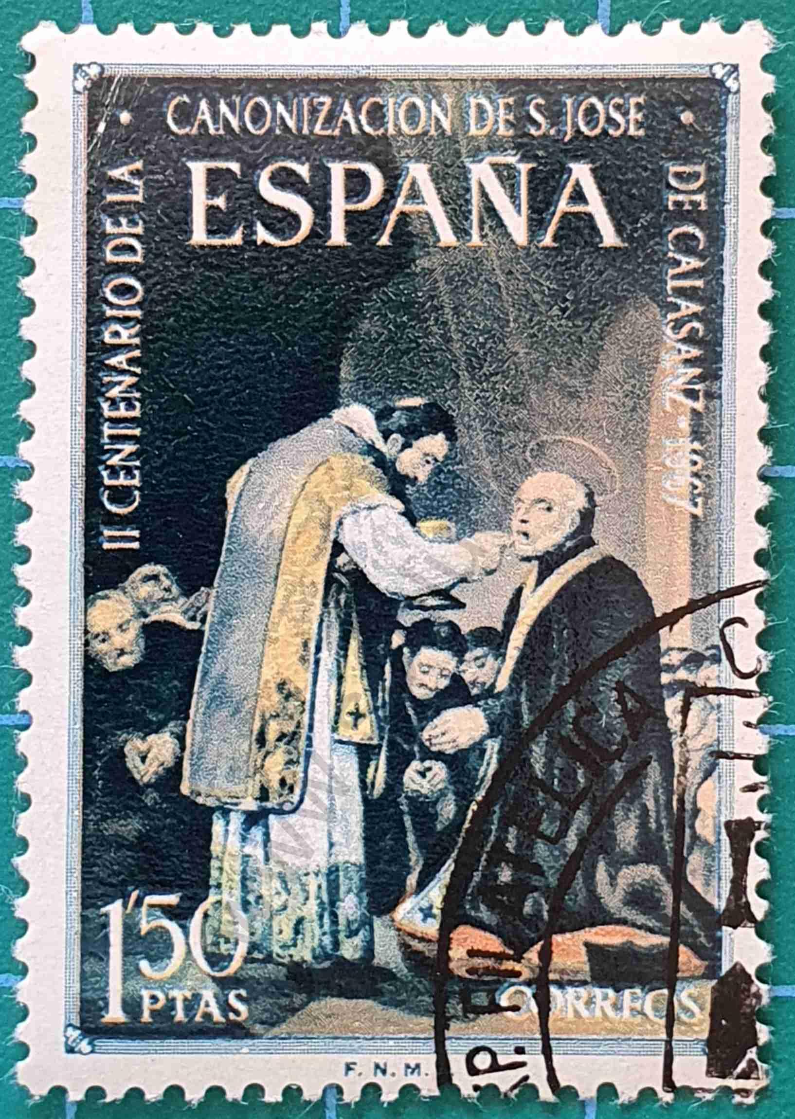 San José de Calasanz - Sello España 1967