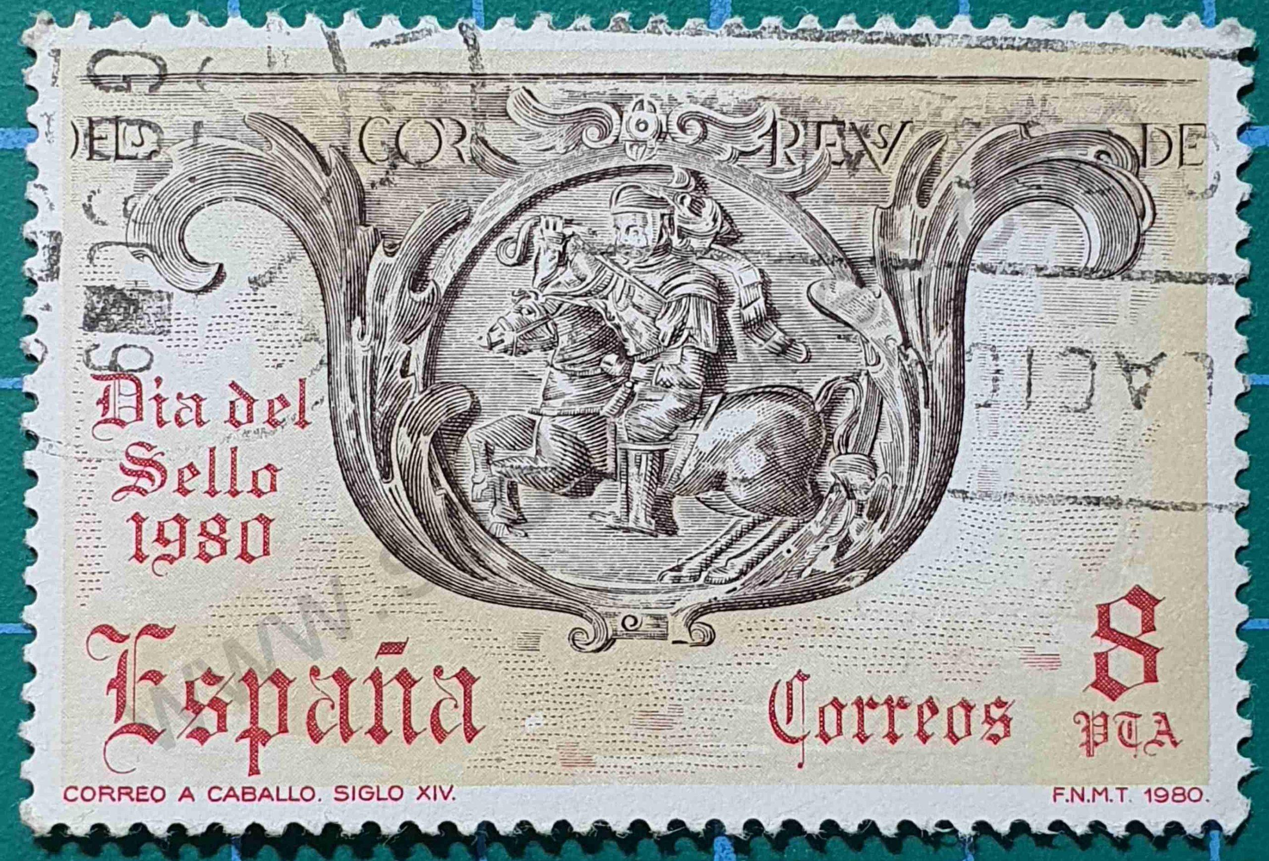 Día del sello 1980 - España