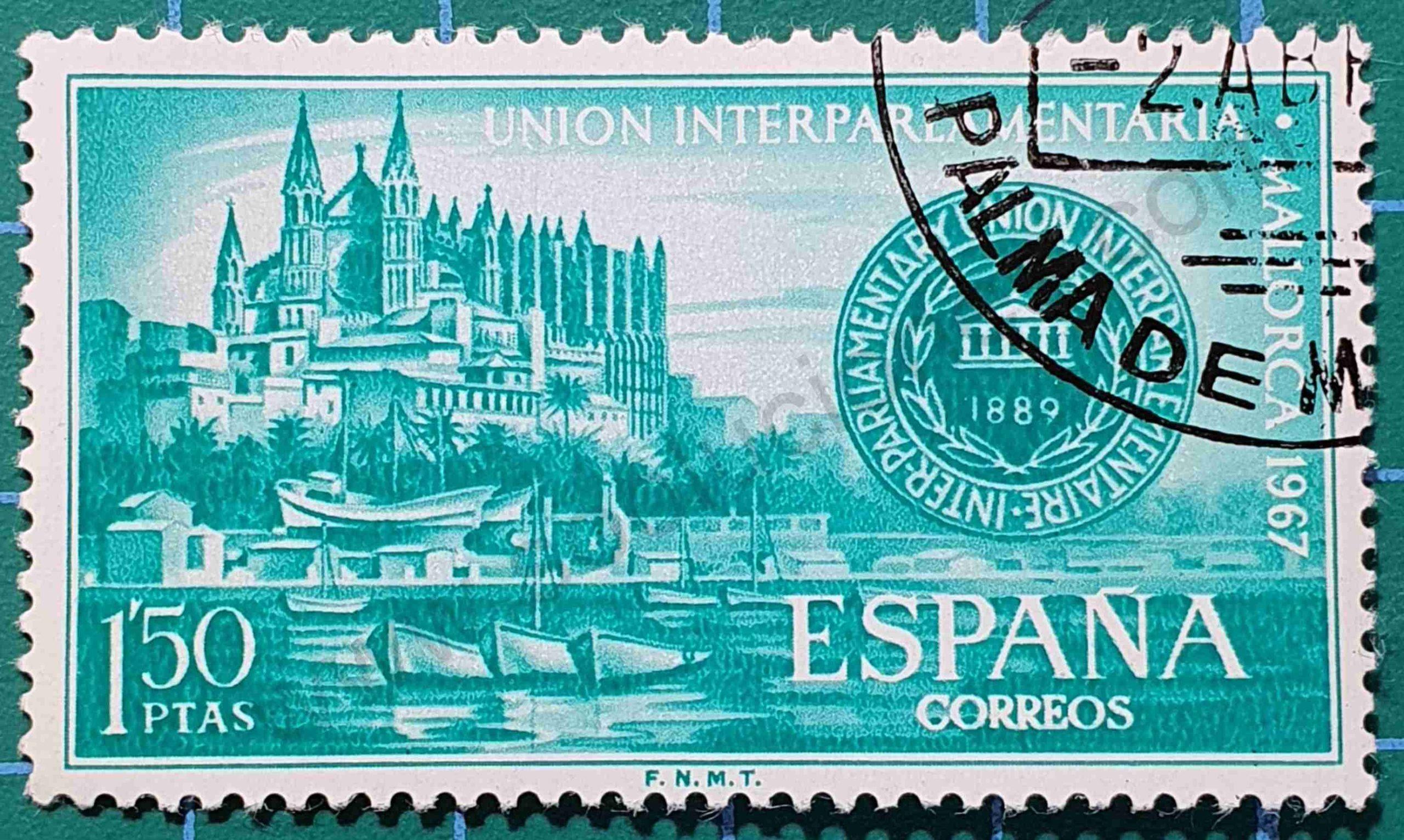 Catedral de Palma - Sello de España año 1967