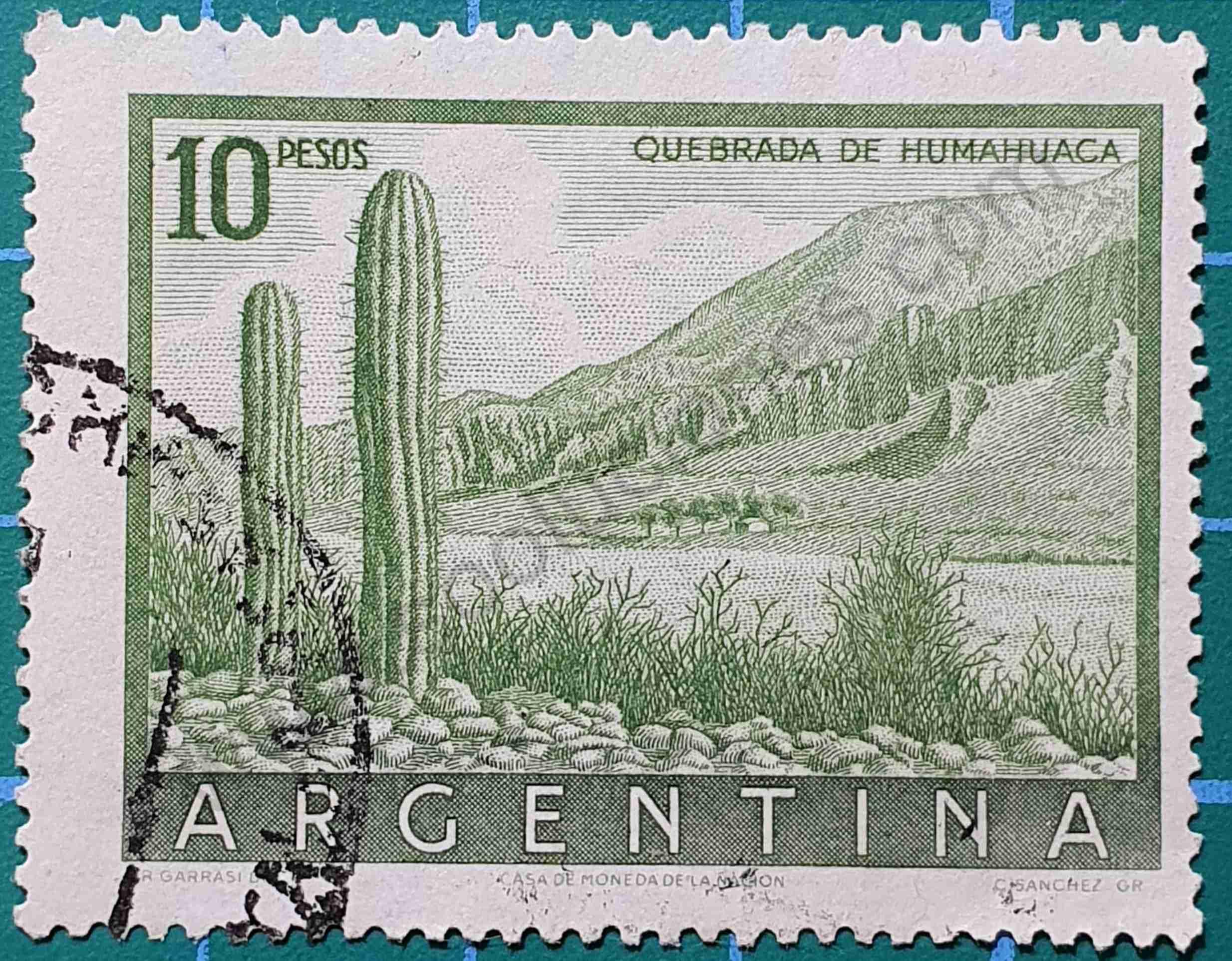 Quebrada de Humahuaca - Sello Argentina 1955