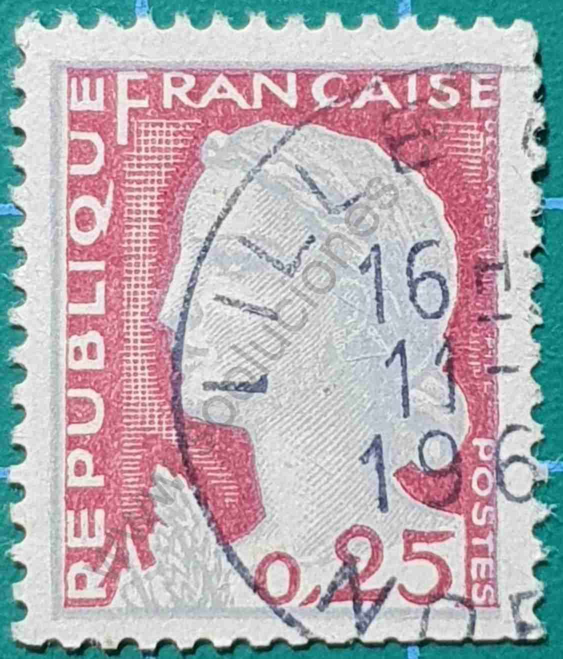 Marianne Decaris - Sello Francia 1960