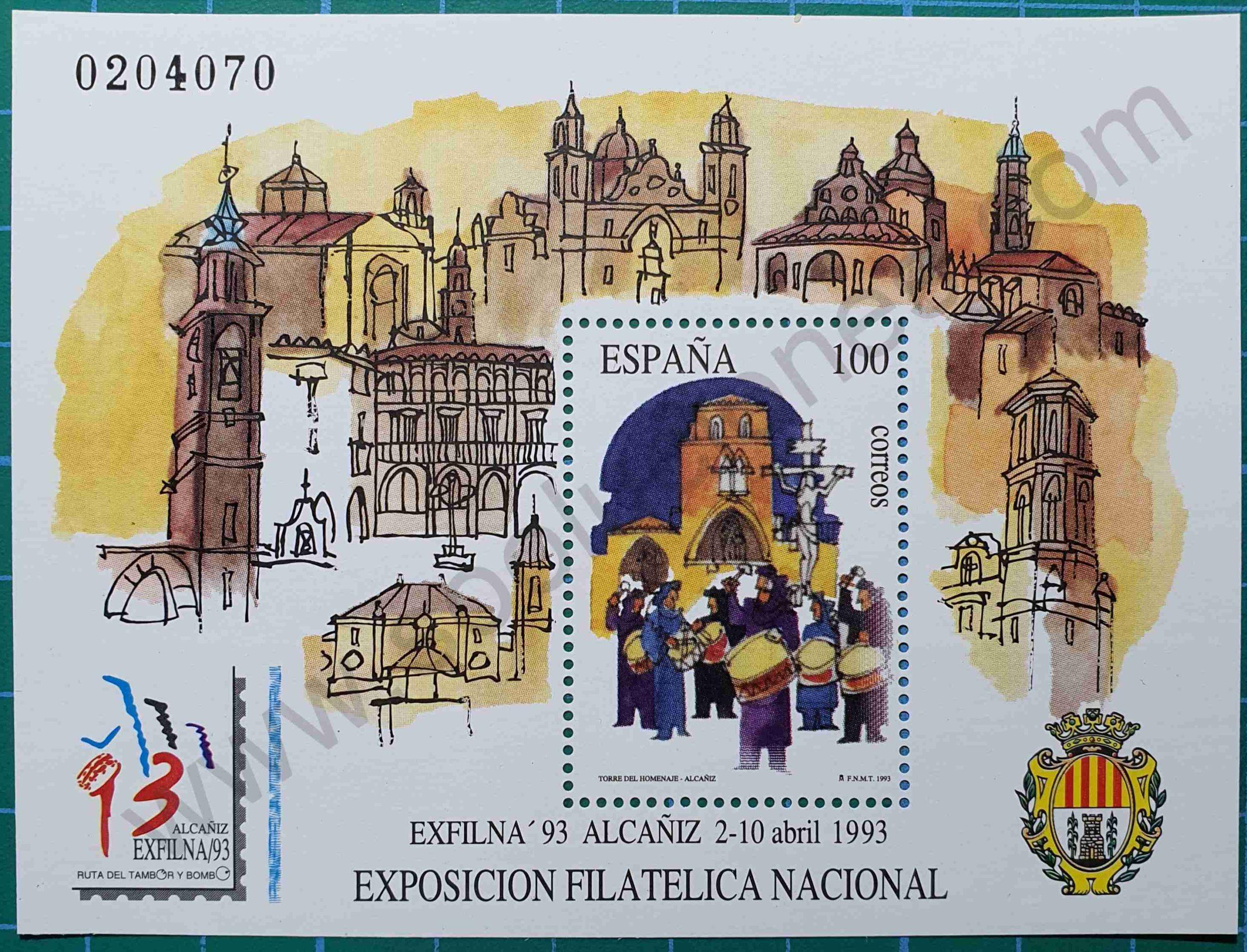 Exfilna'93 - Sello España 1993