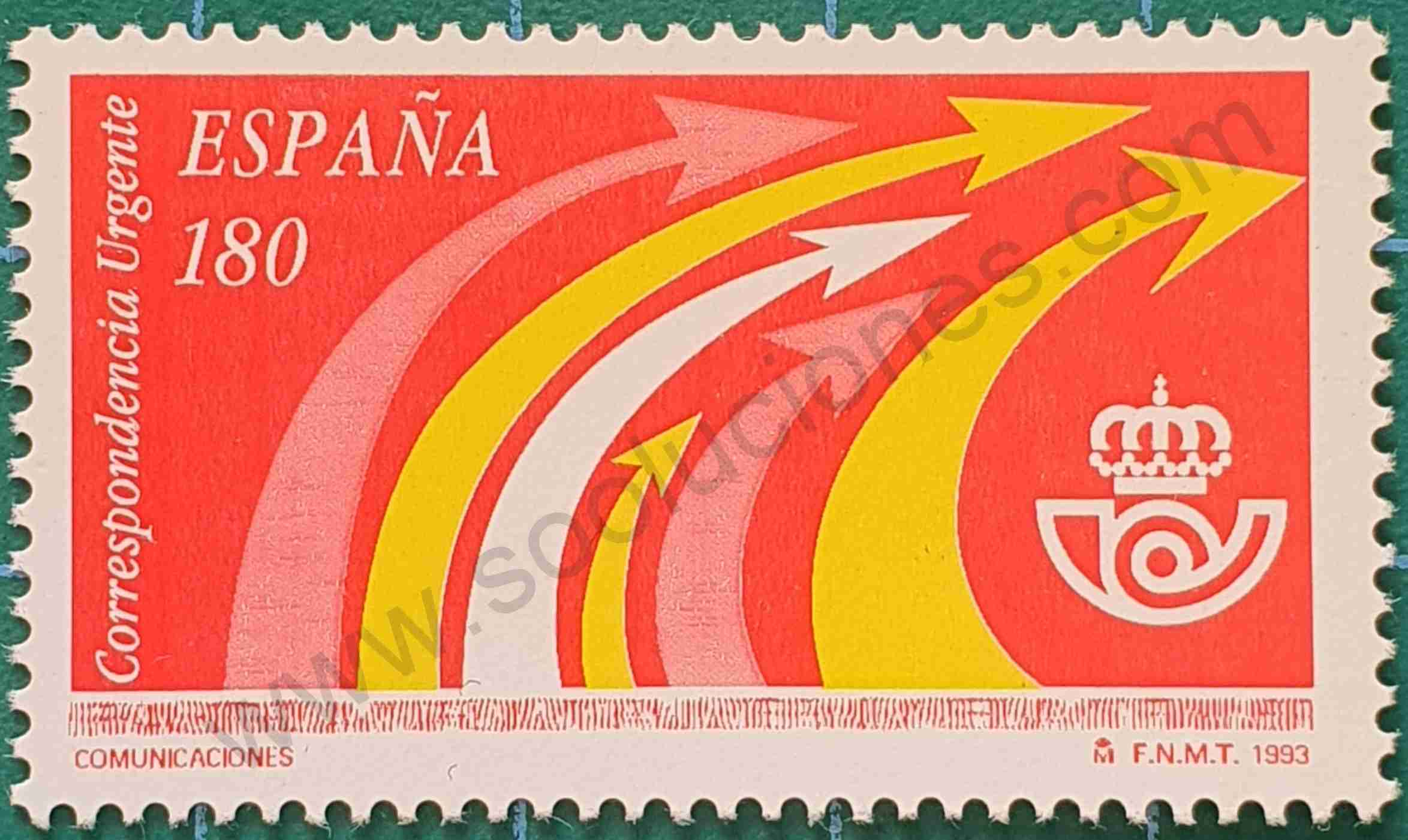 Comunicaciones - Sello España 1993