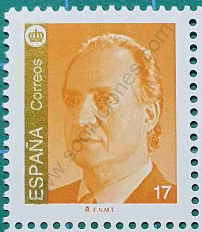 Rey Juan Carlos 17Pta - Sello España 1993
