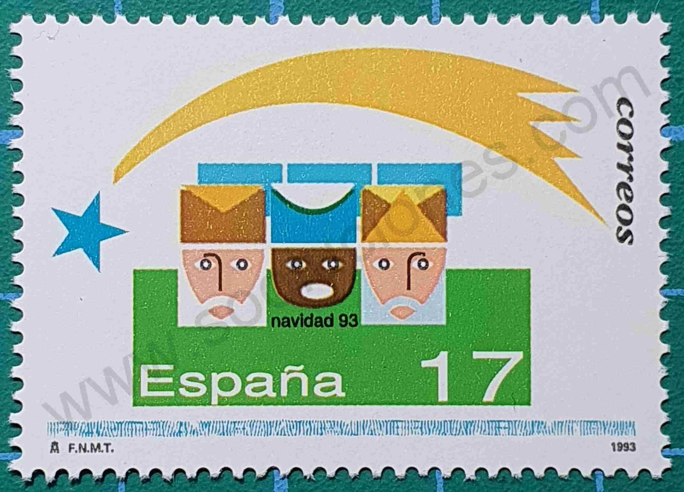Reyes Magos - sello España 1993