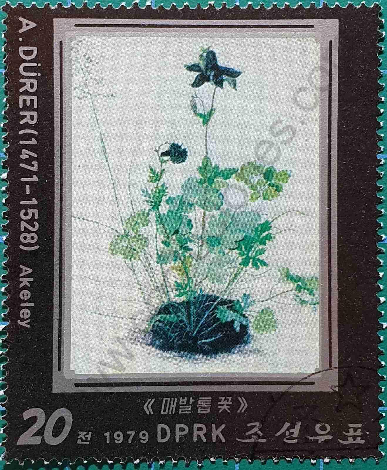 Akeley - sello Corea del Norte 1979